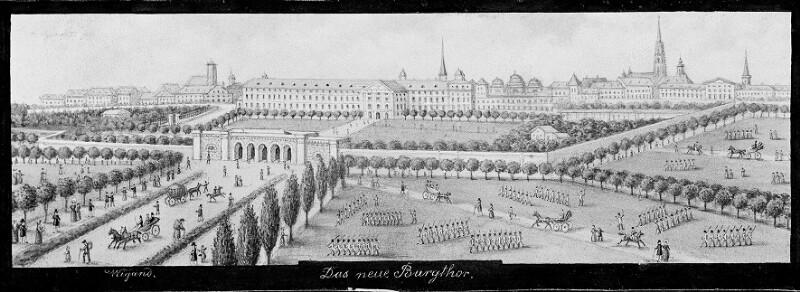 Wien 1, Das neue Burgtor