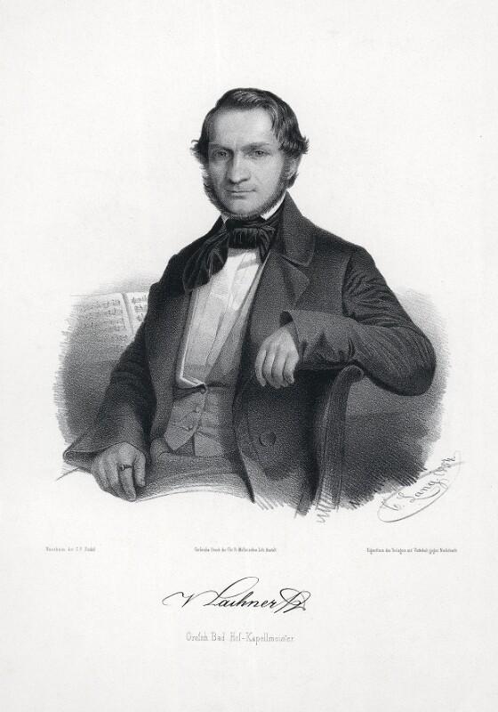 Franz Paul Lachner, 1854©Bildarchiv Austria, ÖNB