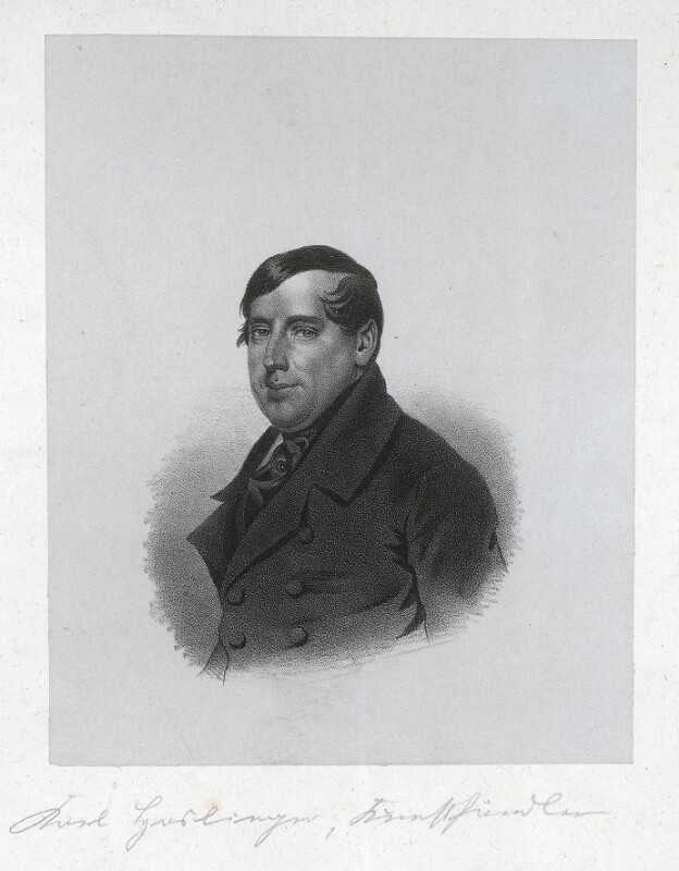 Carl Haslinger, um 1845©Bildarchiv Austria, ÖNB