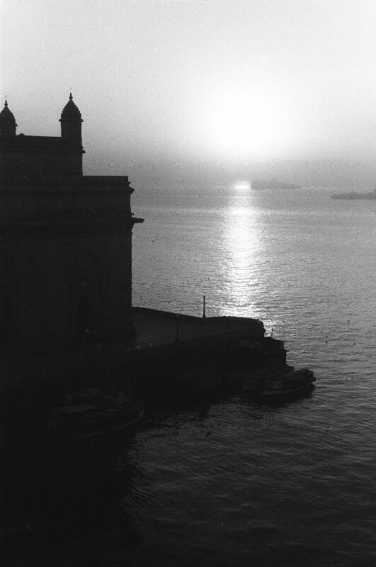 Abenddämmerung in Mumbay