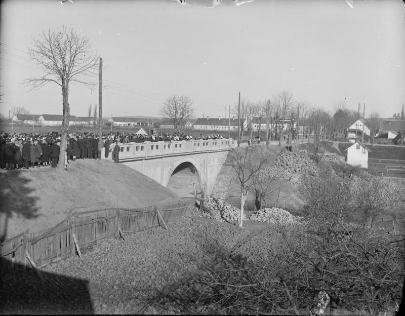 Eröffnung der Mühlbrücke in Güssing am 21.11.1926