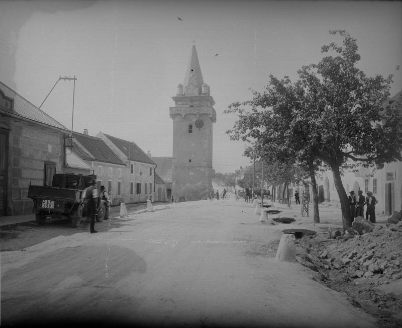 Wehrturm in Breitenbrunn