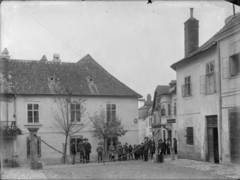 Eingang zum Ghetto in Eisenstadt