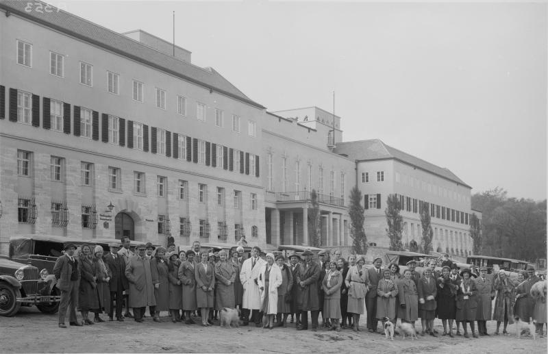 Teilnehmer der Autowertungsfahrt des Ö.T.Clubs in Eisenstadt