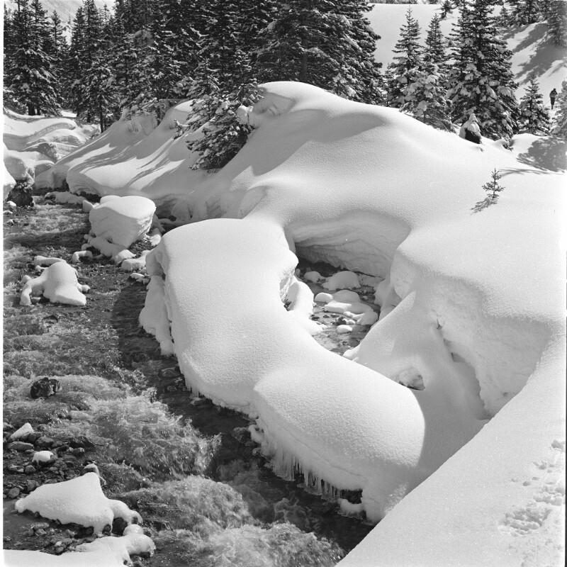 Wintermotiv im Brandnertal