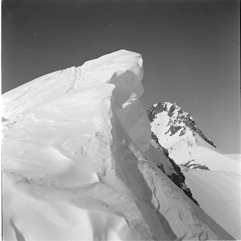 Gipfel des Grenzeckkopf (Piz Faschalba)