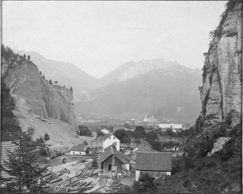 Sägewerk in Bludenz, Vorarlberg