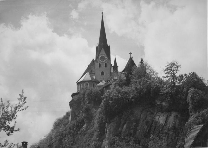Wallfahrtskirche in Rankweil, Vorarlberg