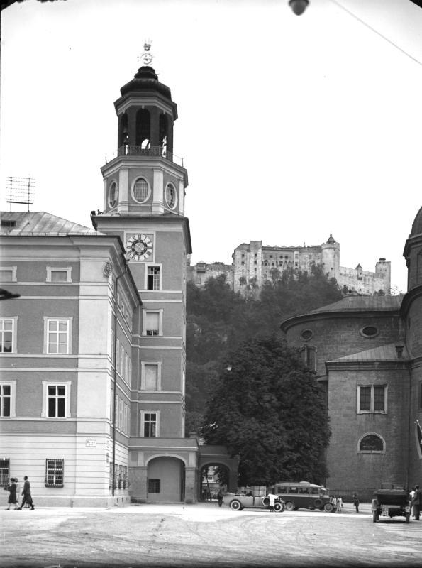 Glockenspielturm in Salzburg
