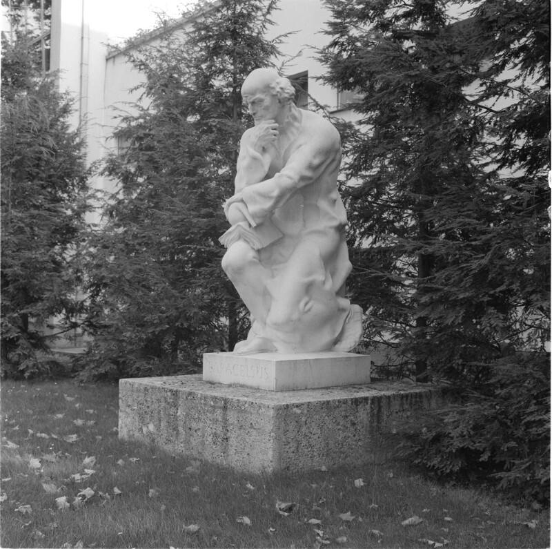 Skulptur des Paracelsus