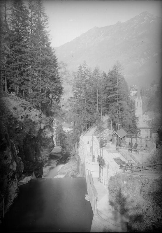 Schleuse in Badgastein