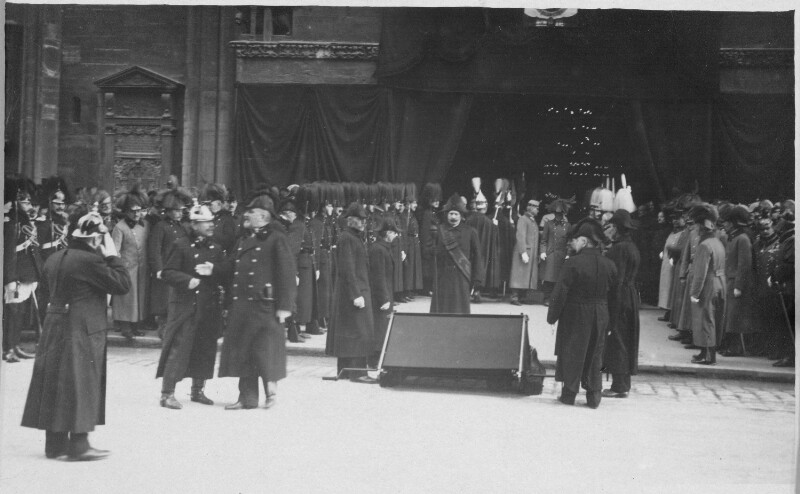 Beisetzung Kaiser Franz Josephs I.