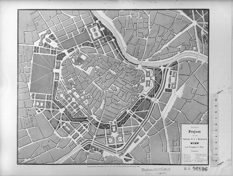 Plan zur Stadterweiterung