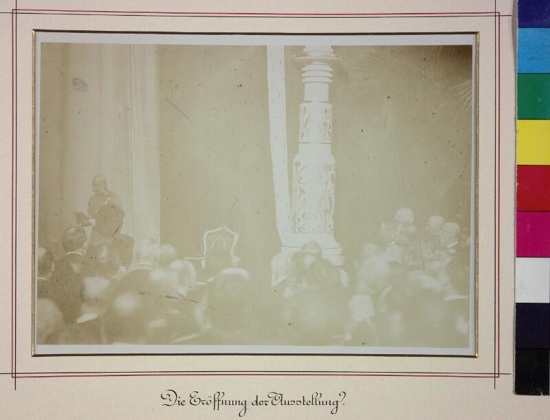 Eröffnung der Kaiser-Jubiläumsausstellung im Prater