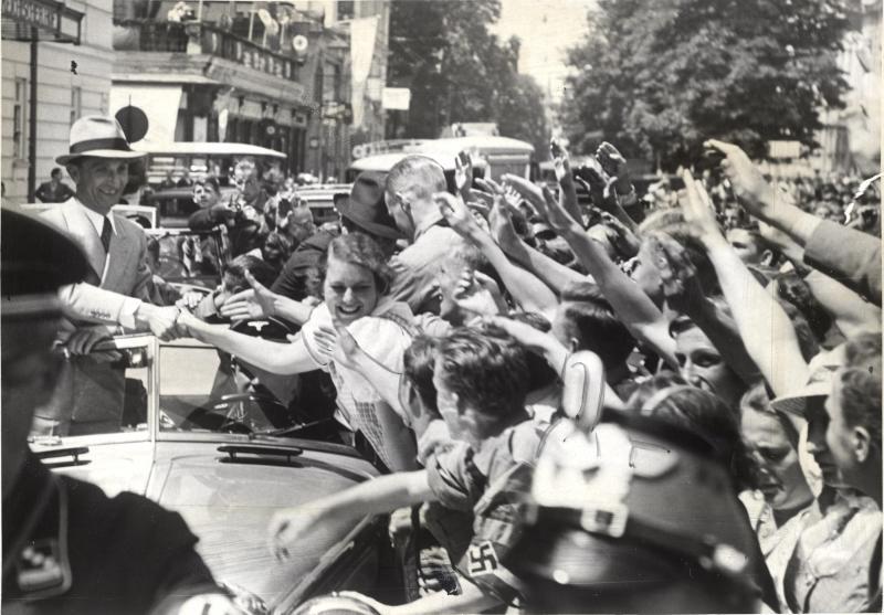 Joseph Goebbels in Salzburg