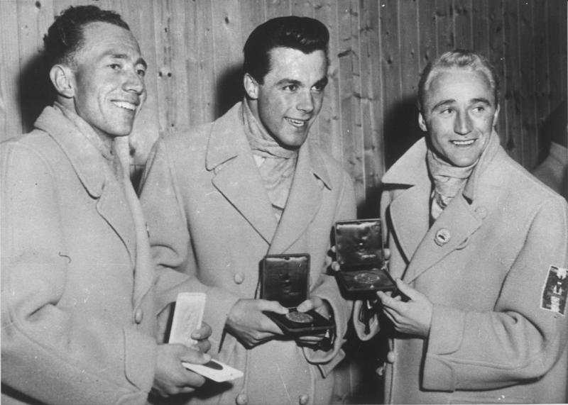 Olympische Winterspiele 1956 in Cortina d' Ampezzo