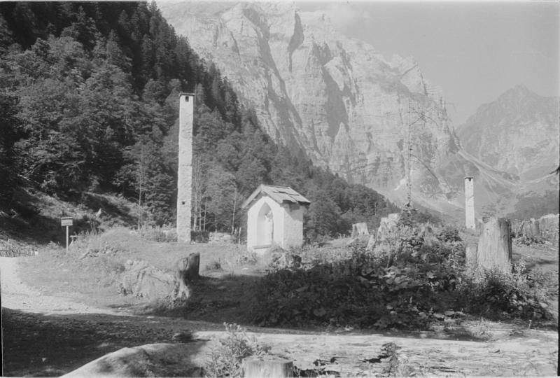 Soldatenfriedhof bei Plöcken