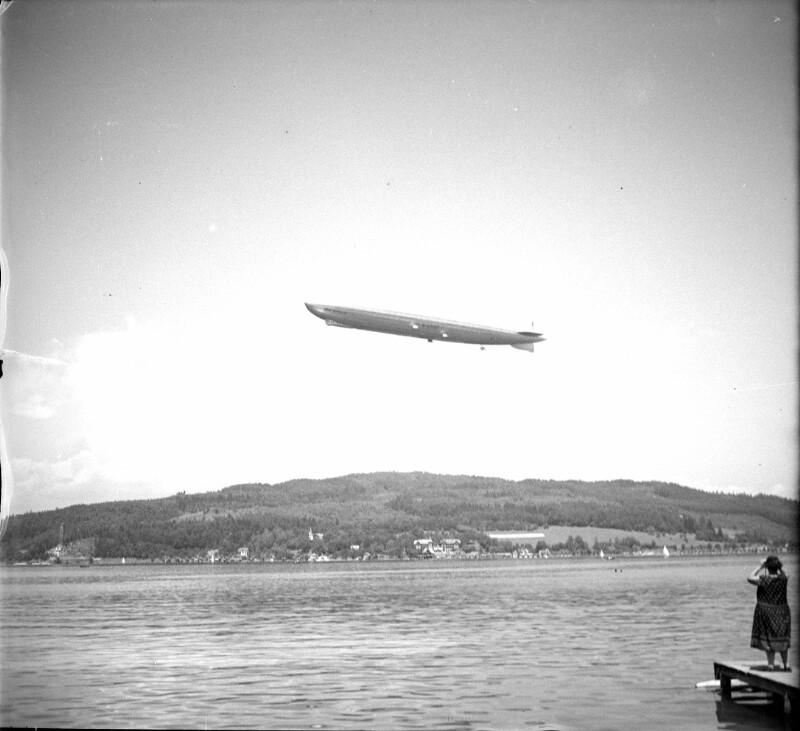 Zeppelin über dem Wörthersee