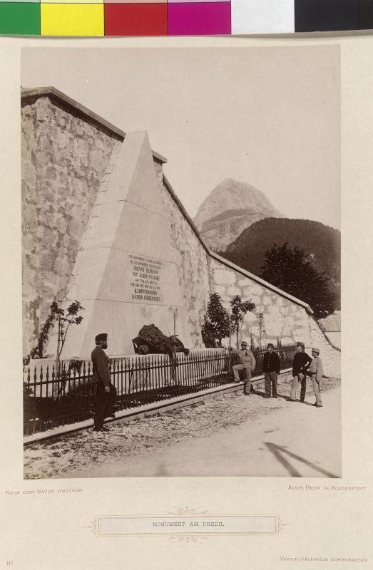 Löwendenkmal am Predilpass