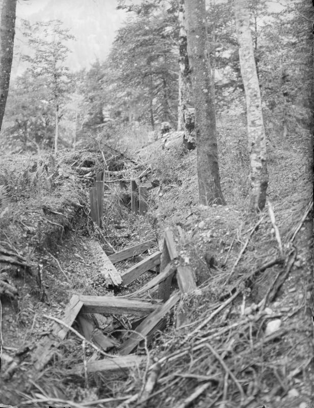 Alte Stellungen beim Plöckenpass
