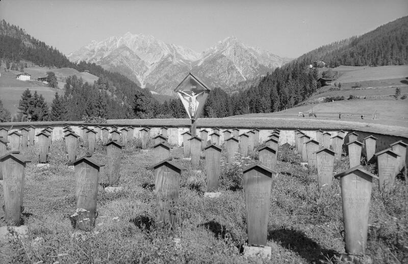 Heldenfriedhof in St. Lorenzen