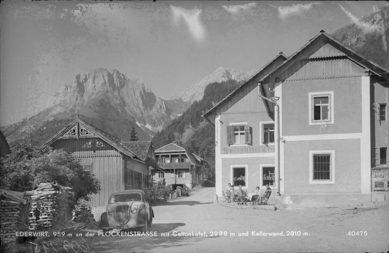 Gasthof in Plöcken