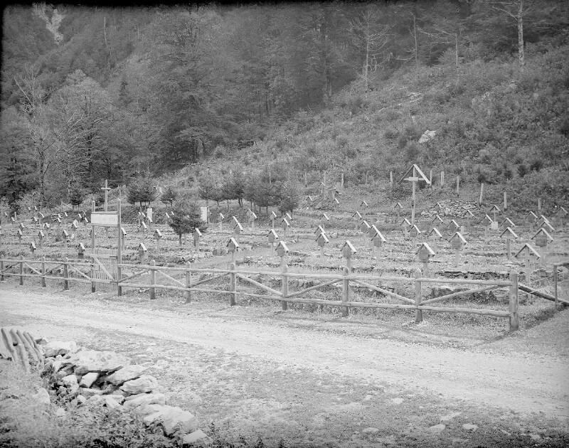 Heldenfriedhof am Plöckenpass