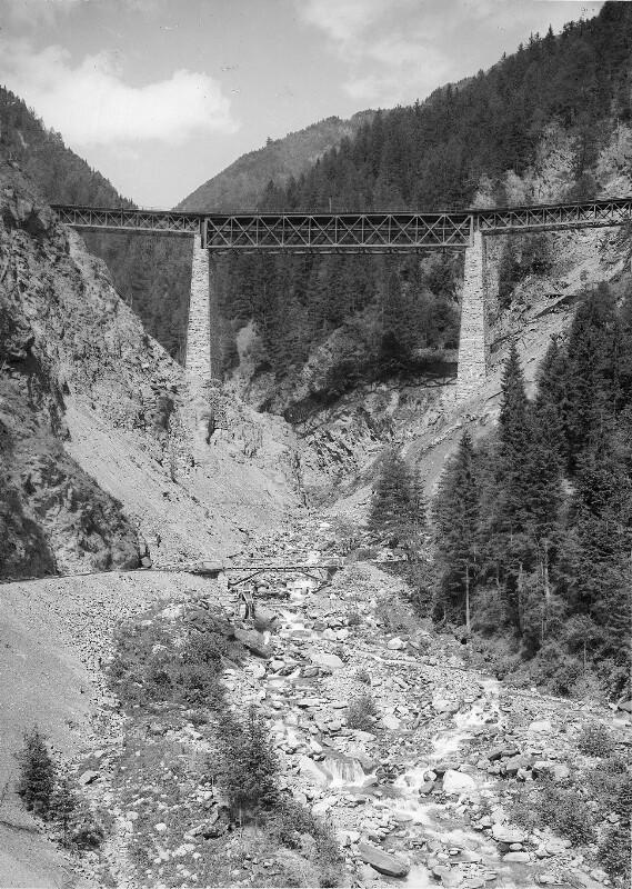 Viadukt der Tauernbahn
