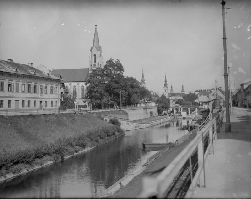 Landkanal in Klagenfurt
