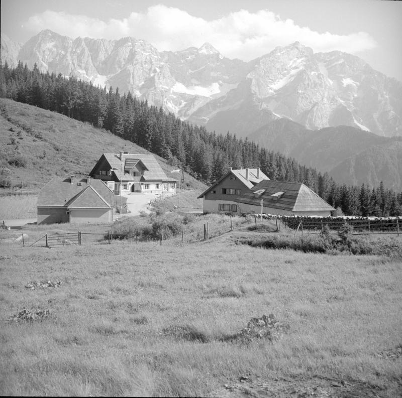 Zollhaus am Seebergsattel