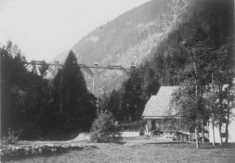 Gosauzwang, Soleleitungsbrücke