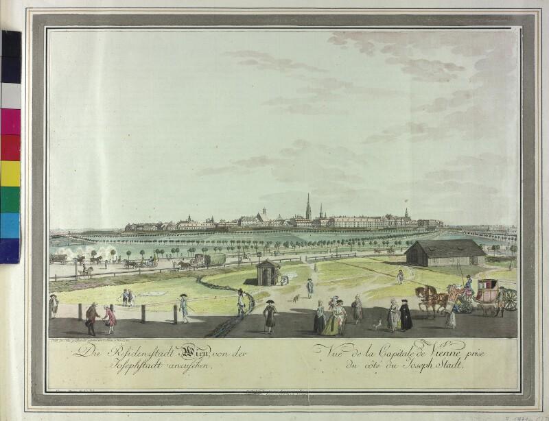 Wien: Ansicht 1785.