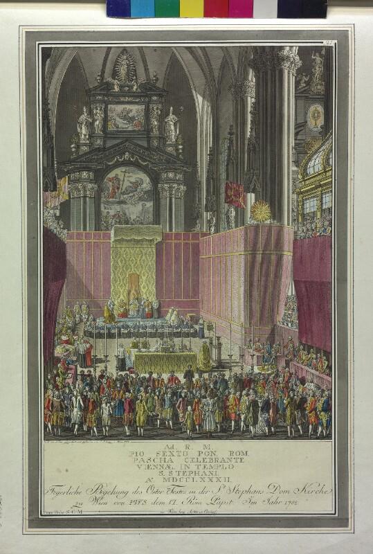 Wien: Stephansdom, Osteramt 1782.