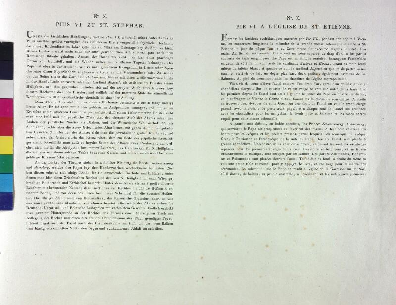 Wien: Stephansdom, Osteramt 1782 (Text).