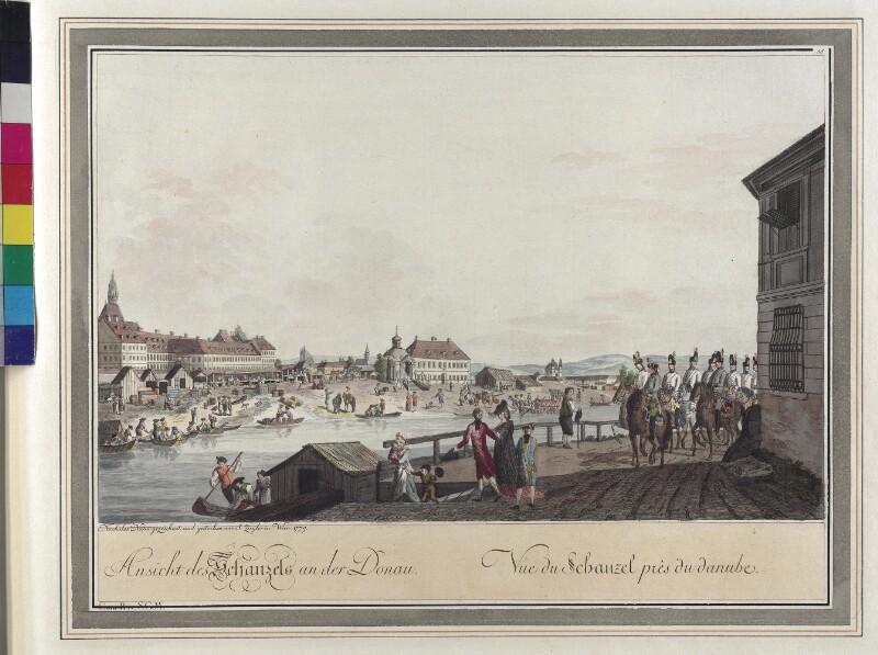Wien: Am Schanzel, 1779.