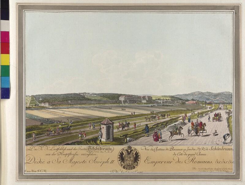 Wien: Schönbrunn, 1781.