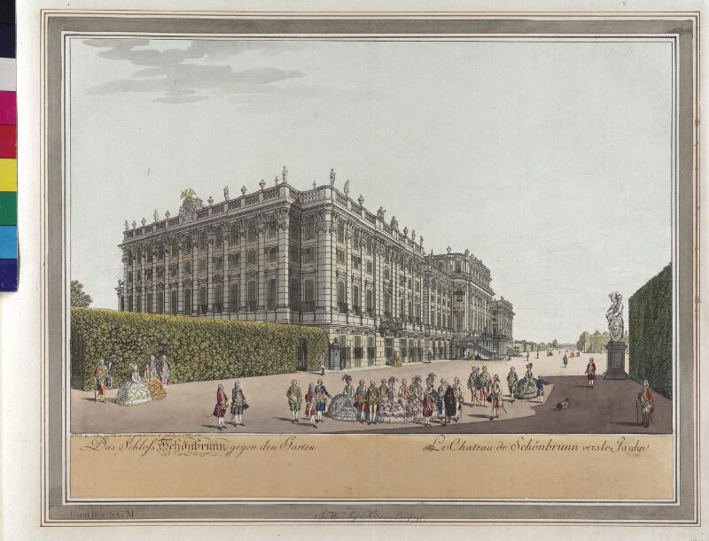 Wien: Schloss Schönbrunn, 1782.