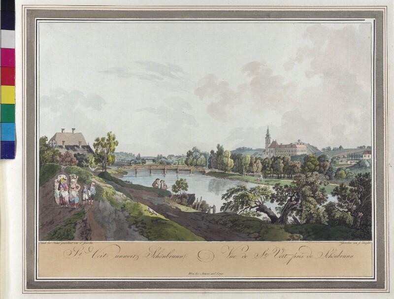 Wien 13., Sankt Veit, um 1790.