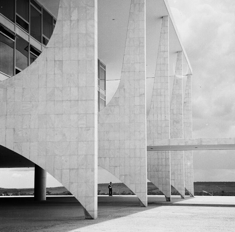 Amtssitz des Präsidenten in Brasília