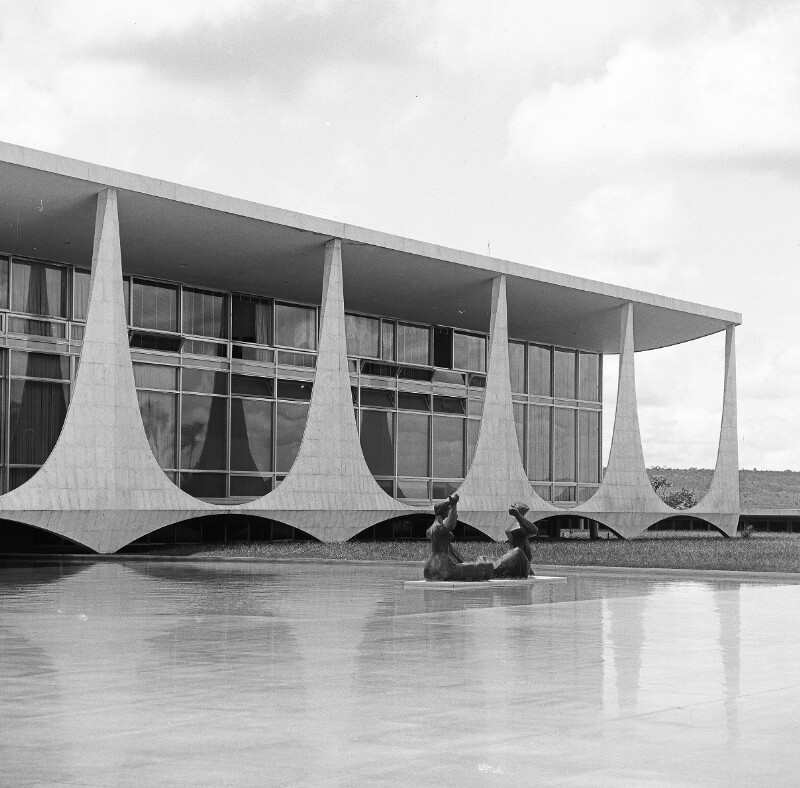 Die offizielle Residenz des Präsidenten in Brasília
