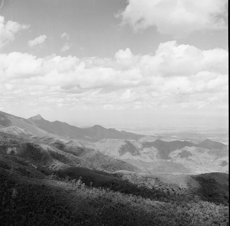 Gebirge bei Campos de Jordão