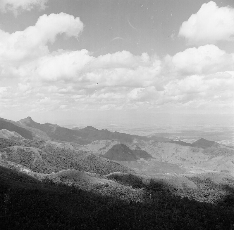 Gebirgslandschaft bei Campos de Jordão