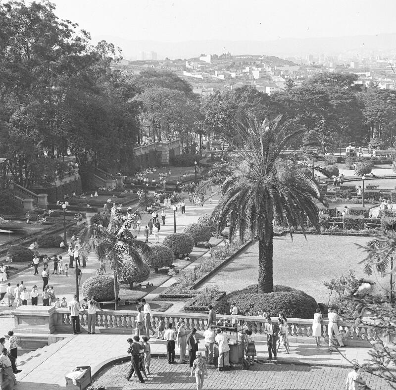 Der Ipiranga Park in São Paulo