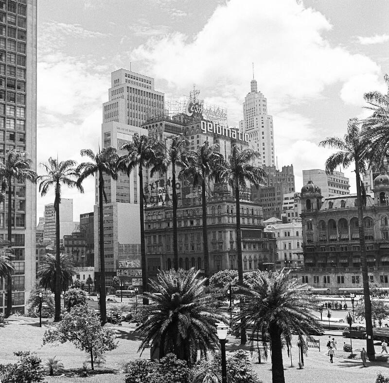 Das Zentrum von São Paulo