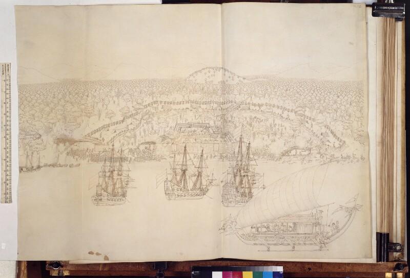 Die Einnahme von Laala (Ceram) durch Arnold de Vlamingh van Outshoorn am 20.9.1654
