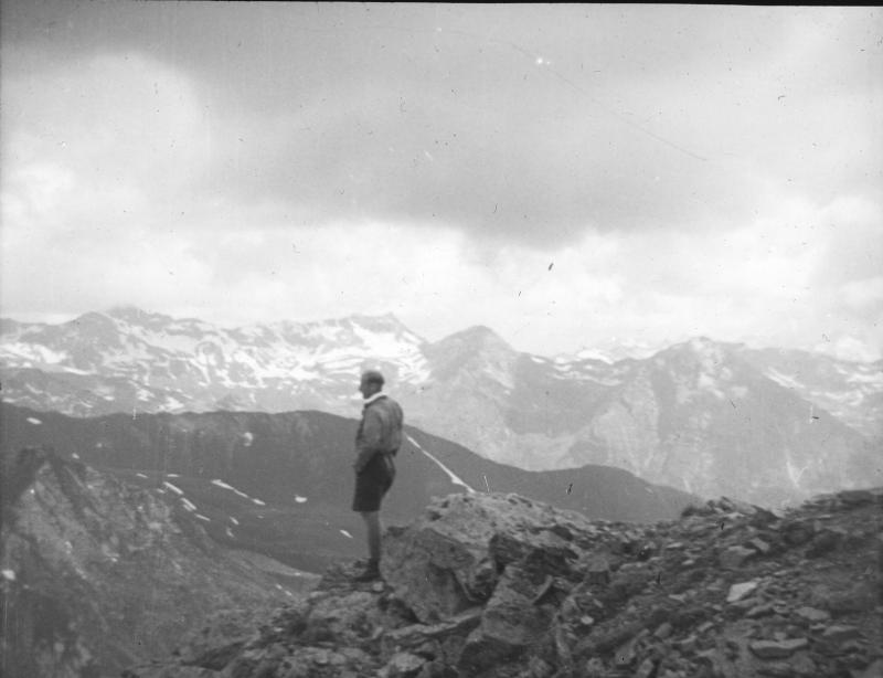 Bergwanderer.