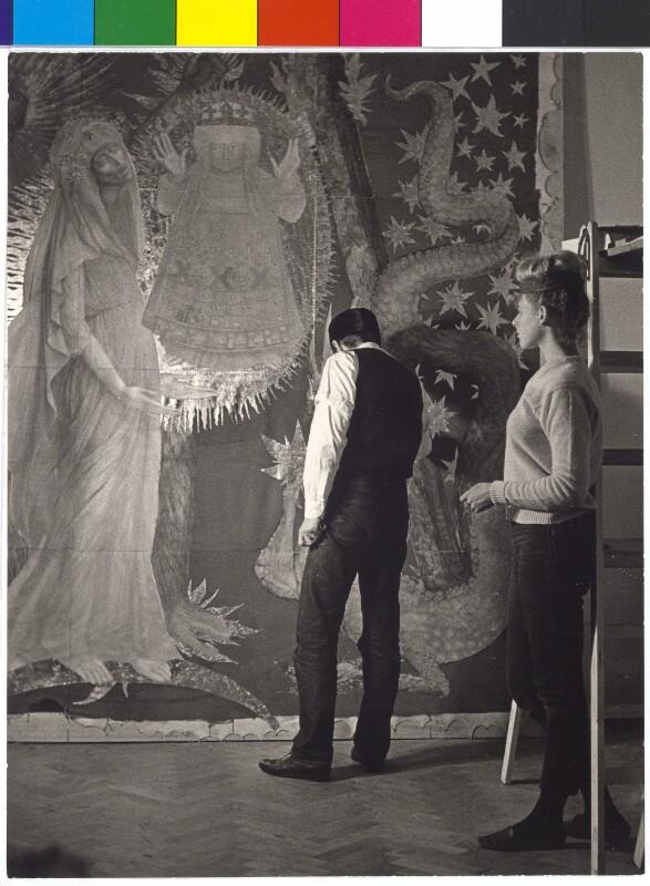 Fuchs, Ernst und Frau
