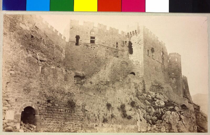 Die Burg von Lindos