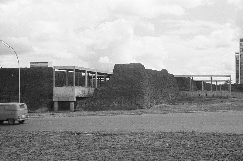 Baukonstruktion in Brasília