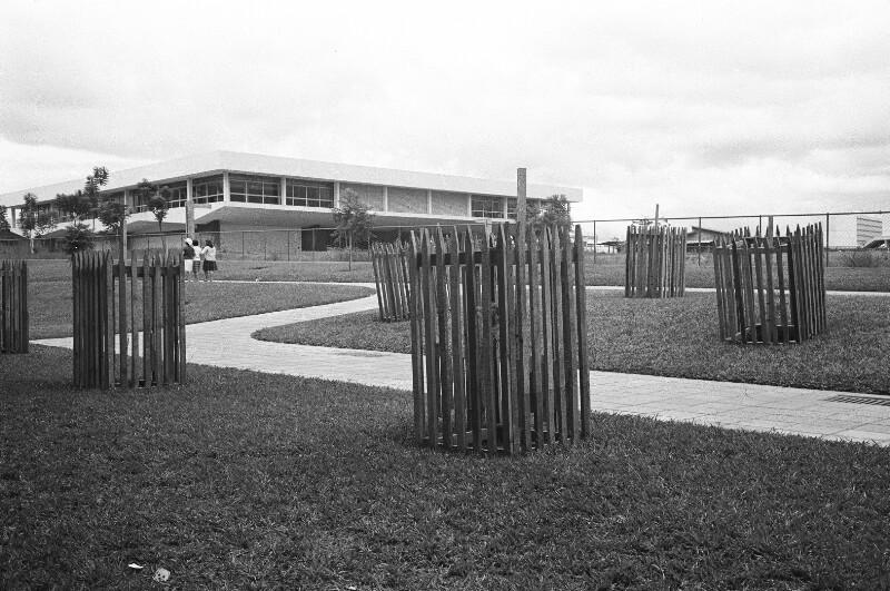 Bepflanzung in Brasília